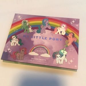Colourpop my little pony eyeshadow palette